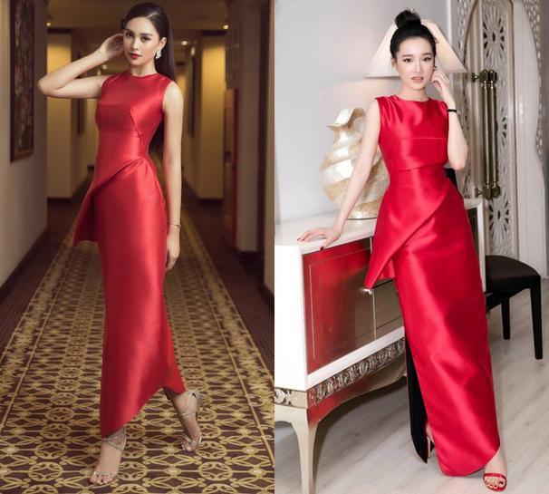 Nóng mắt với pha đụng hàng váy áo lịch sử đẹp bất phân thắng bại của dàn mỹ nhân Việt ảnh 7