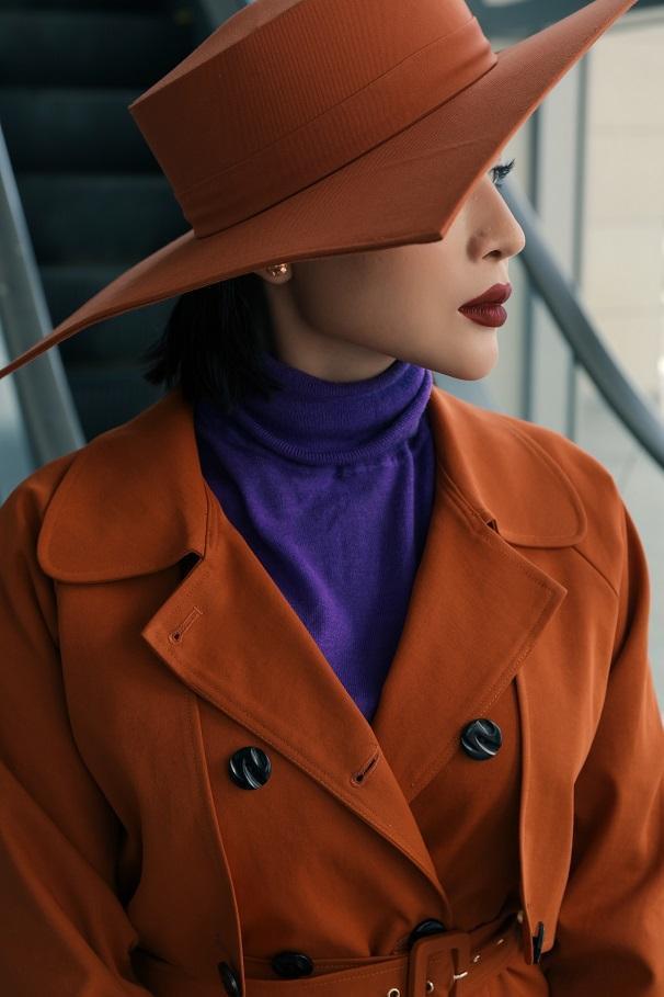 Bộ ảnh thời trang mới nhất của Khả Như mang đến cho khán giả một diện mạo mới lạ