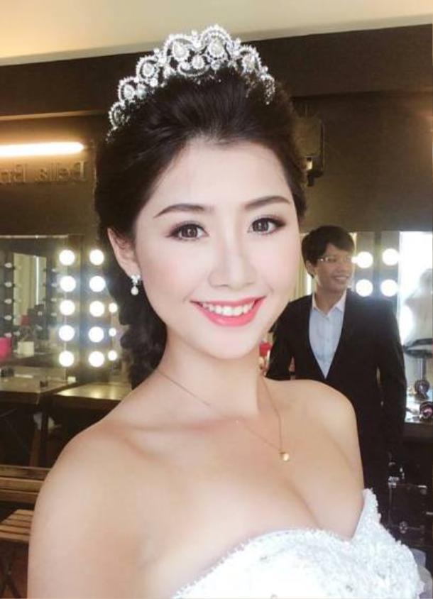 Ngọc Linh đang là cái tên gây nhiều chú ý ở Hoa hậu Việt Nam 2018. Hiện tại, côđang là tiếp viên của Hãng hàng không quốc gia Việt Nam.