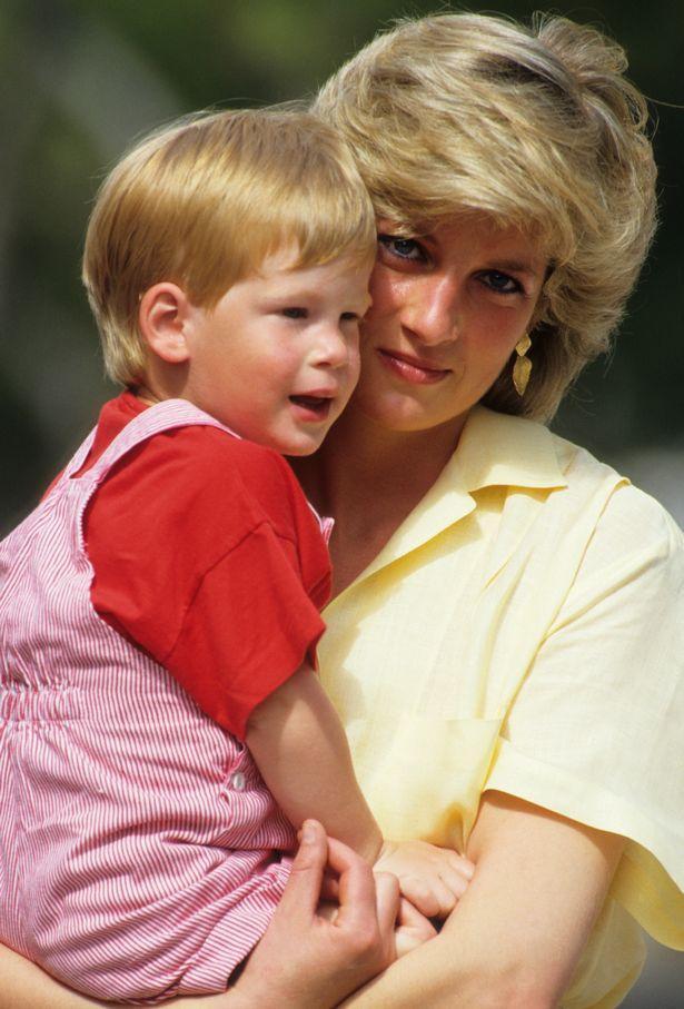 Công nương Diana qua đời khi Hoàng tử Harry mới 12 tuổi.