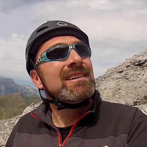 Rob Haggarty chết thảm vì nhảy từ vách đá cao 2.000 mét. Ảnh: Facebook