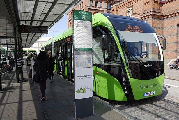 Xe buýt của hãng Skånetrafiken