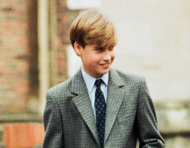 Hoàng tử William năm 1995.