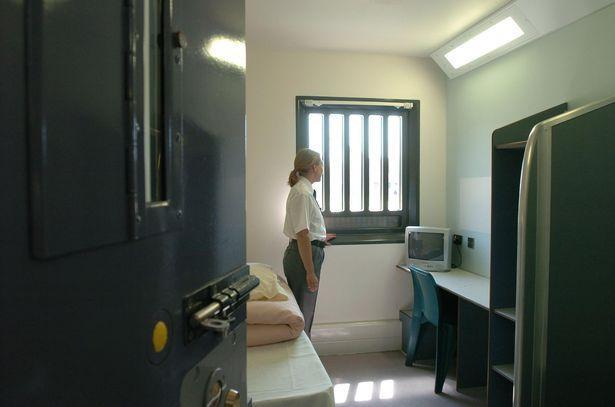 Nữ tù nhân được đồn là đã sinh con một mình trong phòng giam (Ảnh minh họa)