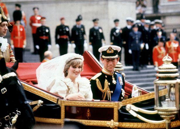 Lễ cưới của hai người tại Nhà thờ St Paul, tháng 7/1981.