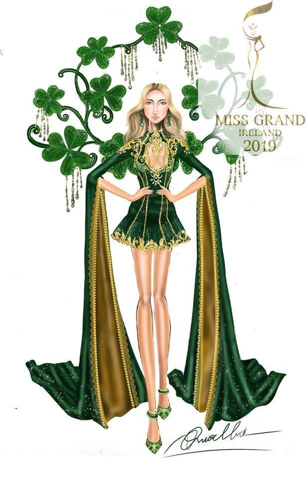 Giữa bản vẽ và thiết kế hoàn toàn không liên quan, cộng thêm kiểu dáng bị đánh giá nghèo ý tưởng nên thiết kế bị liệt vào danh sách những trang phục dân tộc thảm họa nhất Miss Grand International 2019.