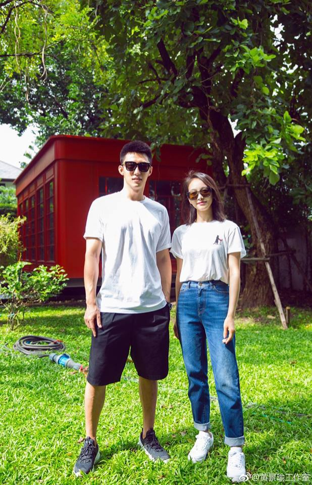 Đóng cặp với Hoàng Cảnh Du là Tống Thiến. Mặc dù hơn kém nhau 5 tuổi nhưng cả hai rất đẹp đôi khi đứng bên nhau.