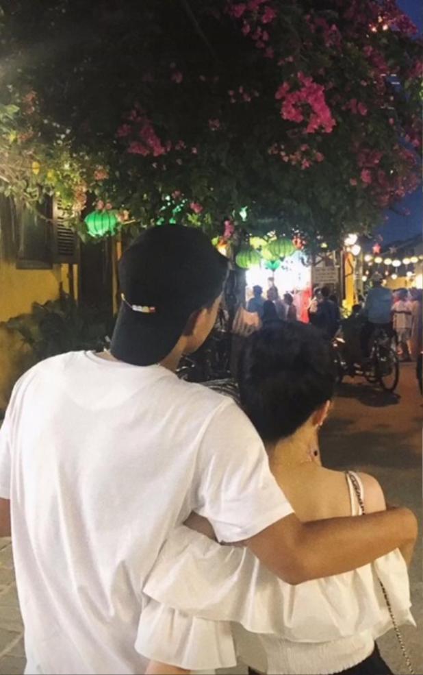 Đức Chinh và bạn gái đã có những giây phút thật sự thoải mái bên nhau.