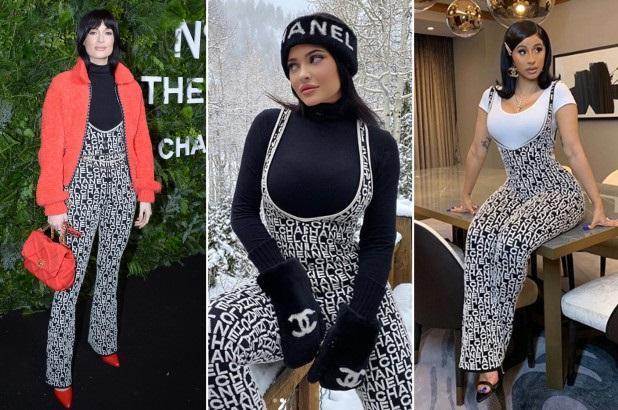 Không những thế, kiểu dáng jumpsuit này từng được Kacey Musgraves và Cardi B mặc trong những lần đi tiệc xuất hiện trước công chúng với cách mix đồ khác nhau