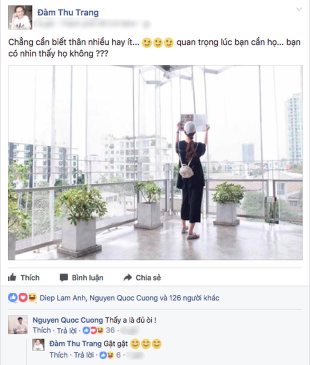 Cường Đô La công khai nói lời mật ngọt với bạn gái mới ảnh 0