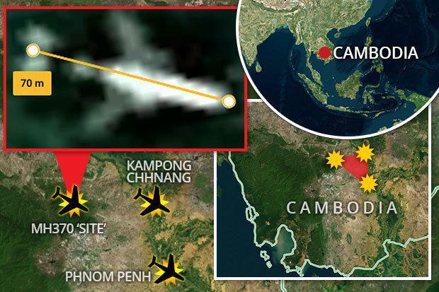"""Nơi MH370 được cho là đang yên nghỉ rất gần khu vực được mệnh danh là """"mồ chôn máy bay"""" ở Campuchia"""