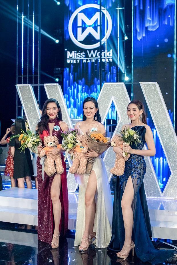 3 cô gái hiện là sinh viên ĐH HUTECH xuất sắc lọt vào top 20bước vào Chung kết toàn quốccuộc thi Miss World Việt Nam 2019.