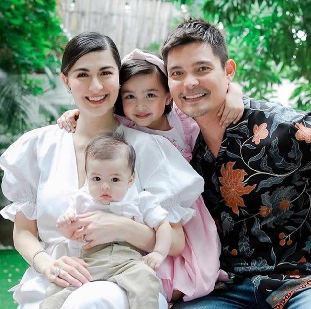 Marian Rivera và chồng là nam diễn viên Dingdong Dantes tổ chức lễ rửa tội cho cậu con traiJose Sixto Dantes.