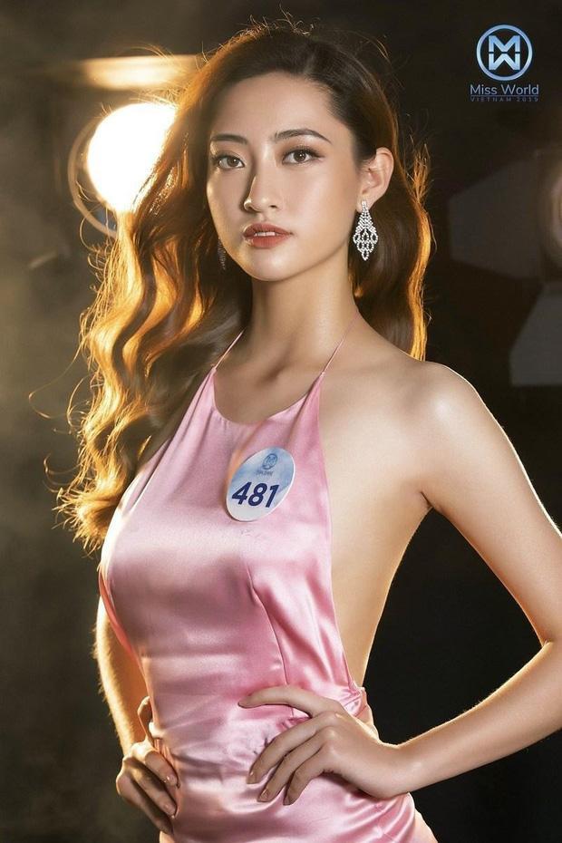 Tân Hoa hậu sở hữu chiều cao nổi bật 1m77 và số đo ba vòng: 88 - 68 - 92. Trong cuộc thi,Lương Thùy Linh cũng từng lọt top 8 Người đẹp Truyền thông và top 5 Người đẹp biển.