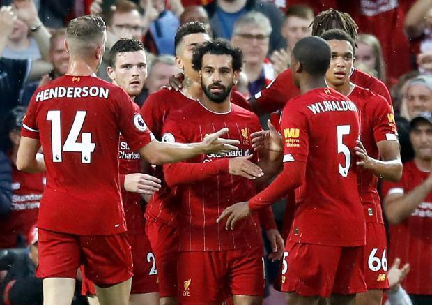 Chiến thắng 4-1 ngay ngày đầu ra quân giúp Salah cùng các đồng đội có khởi đầu không thể thuận lợi hơn tại giải ngoại hạng Anh.