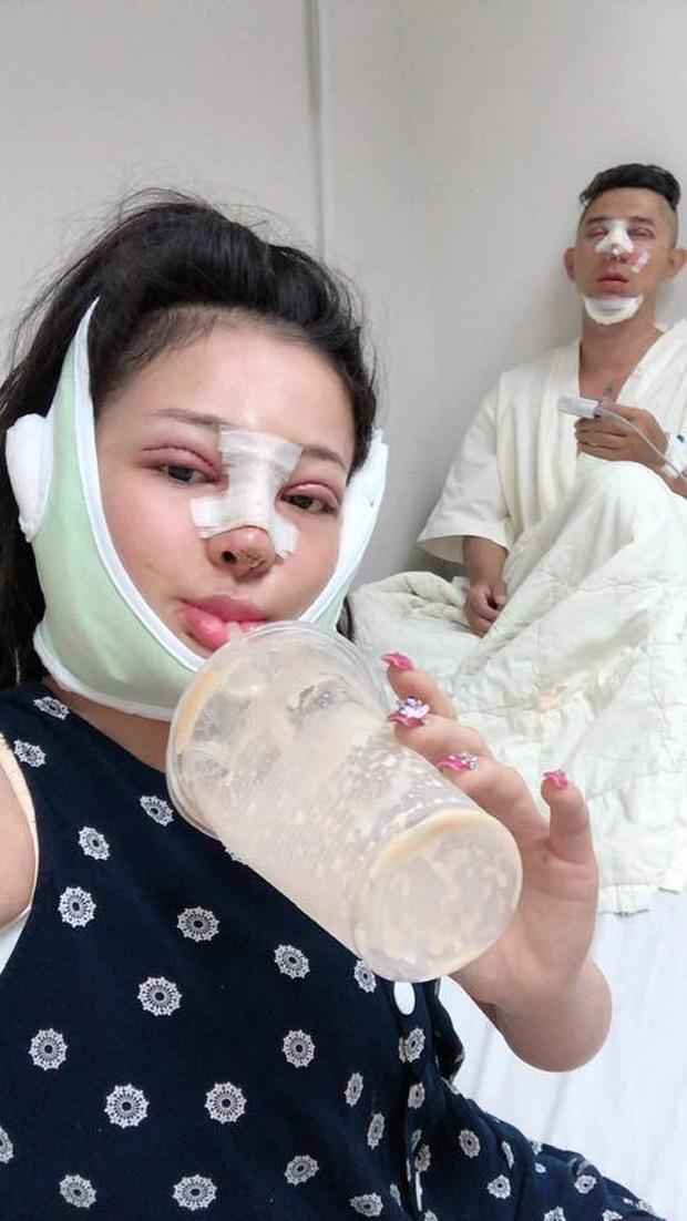 Hình ảnh Ngân 98 từng đi PTTM với tình cũ Lương Bằng Quang.