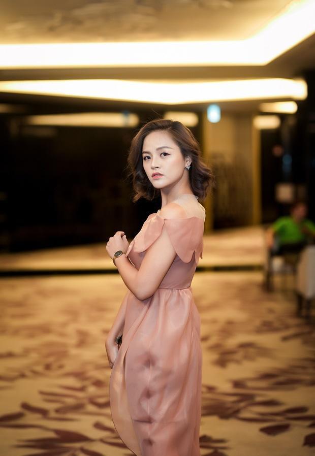 Thu Quỳnh xinh đẹp trong sự kiện.