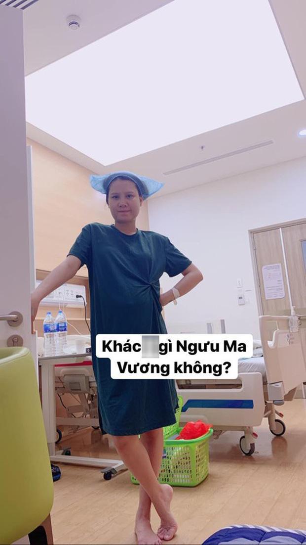 Hotmom Thanh Trần hạ sinh em bé thứ hai, lầy lội khoe khoảnh khắc hài hước trước giờ đẻ ảnh 4