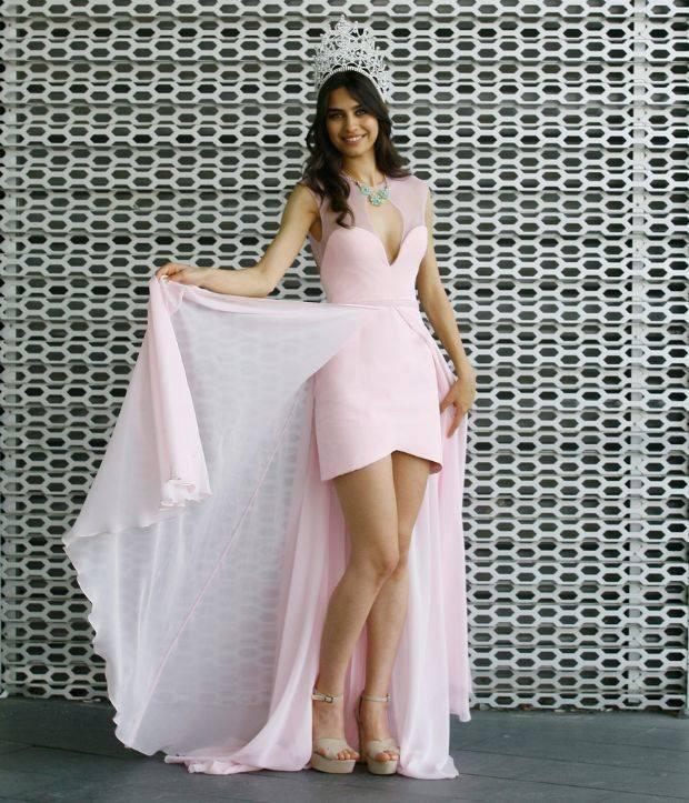 Amine Gulse từng đăng quang trong cuộc thi Hoa hậu Thổ Nhĩ Kỳ năm 2014.