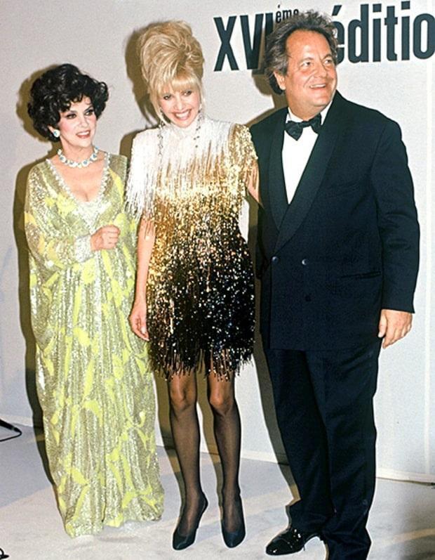 Cựu người mẫu Ivana Trump - mẹ của Ái nữ con gái Tổng thống Mỹ mặc vào năm 1991 trong một sự kiện diễn ra tại thành phố New York , Mỹ