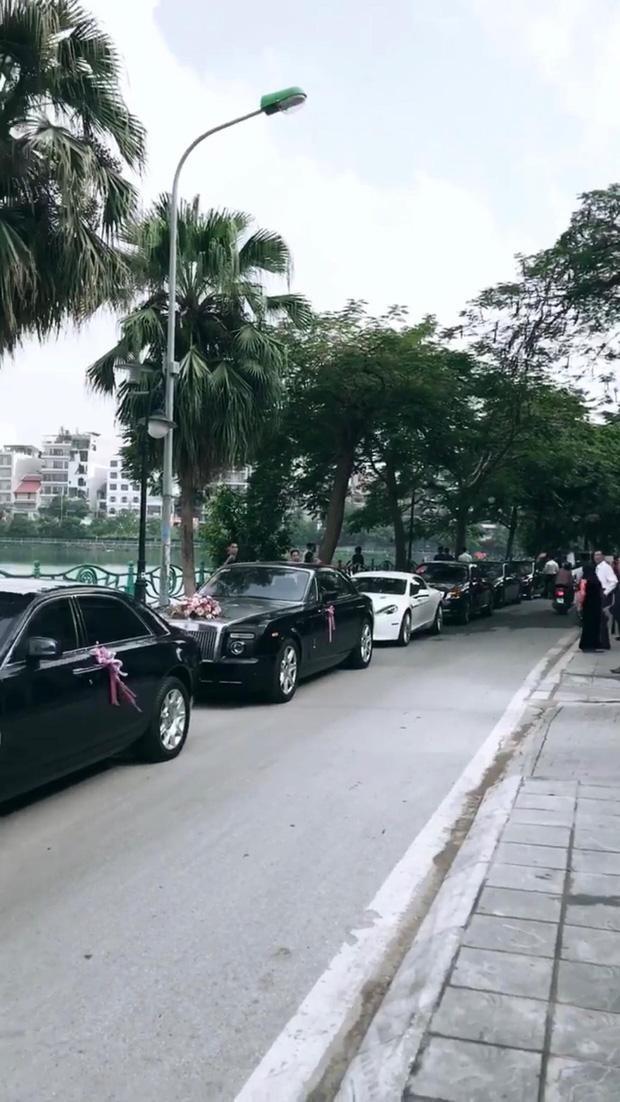 Dàn siêu xe trong lễ rước dâu