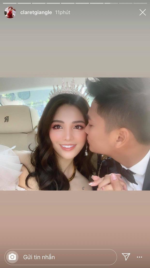 Hai vợ chồng Claret Giang Lê và hotboy Thái Bá Nam chia sẻ khoảnh khắc ngọt ngào