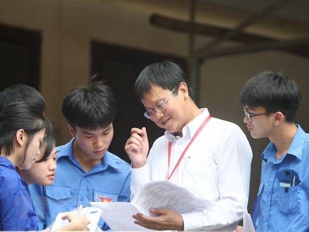 Hình ảnh Thứ trưởng Lê Hải An trong một lần gặp gỡ sinh viên. Ảnh TTXVN
