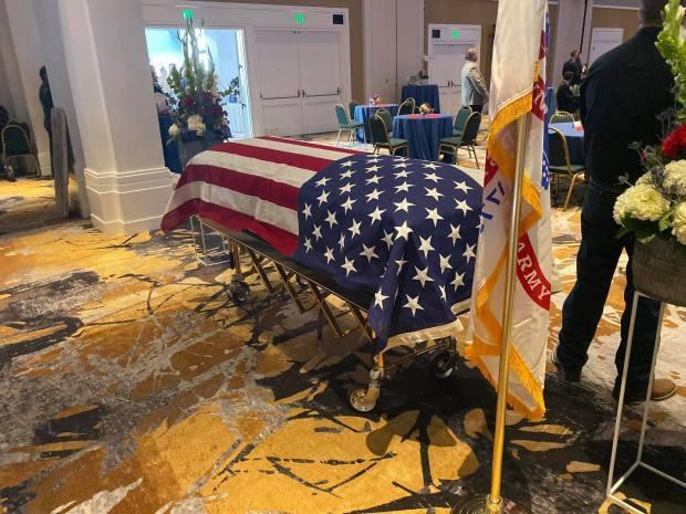 Tang lễ của Adrian Bonar vừa được tổ chức vào ngày 29/10.
