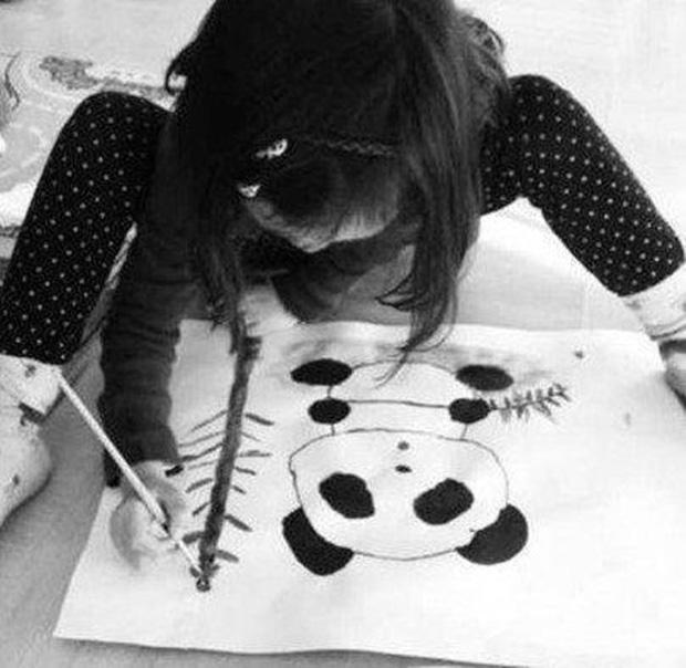 Ngay từ khi còn nhỏ, Lý Yên đã thể hiện tài năng trong lĩnh vực hội họa