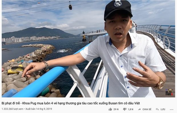 Với lời nhận định được cho là có phần coi thường những cô dâu Việt lấy chồng Hàn, Khoa Pug đã nhanh chóng bị phản bác và gây tranh cãi cộng động mạng.