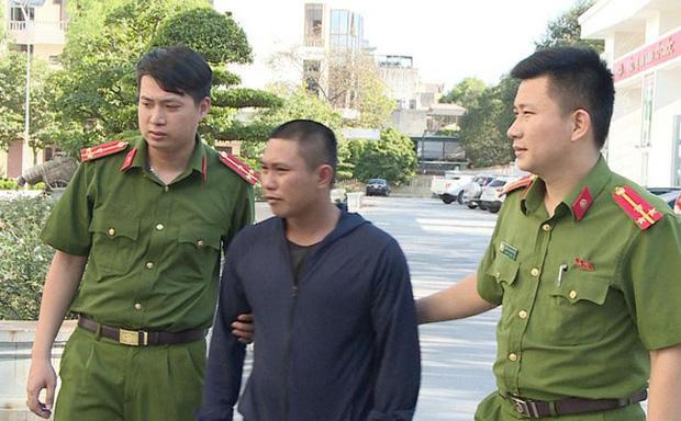 Công an vừa bắt giữ nghi phạm Lại Văn Sơn vì tội giả danh công an lừa đảo.
