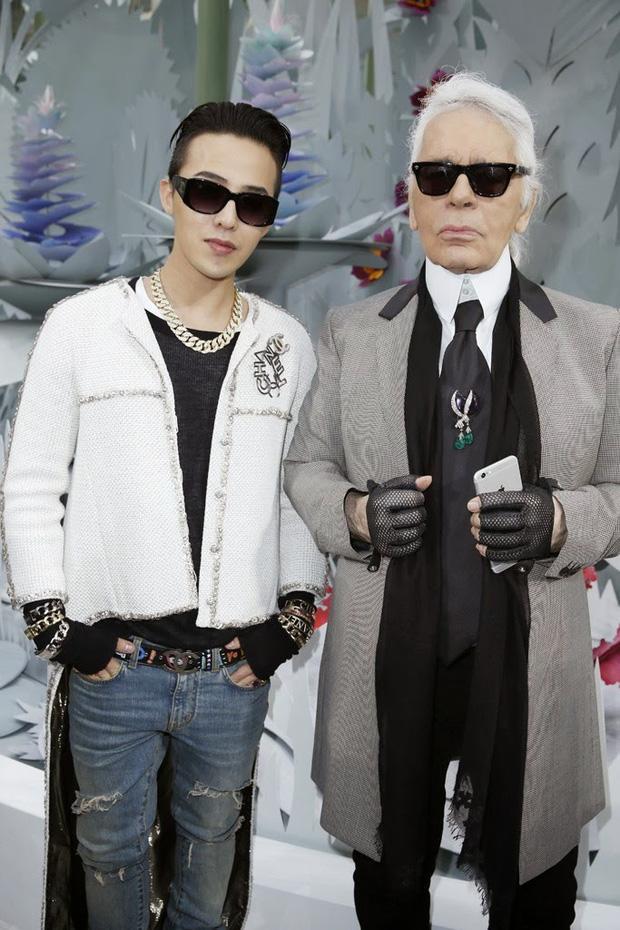 Đầu năm 2015, G-Dragon đến dự show diễn Chanel Haute-Couture Xuân-Hè 2015