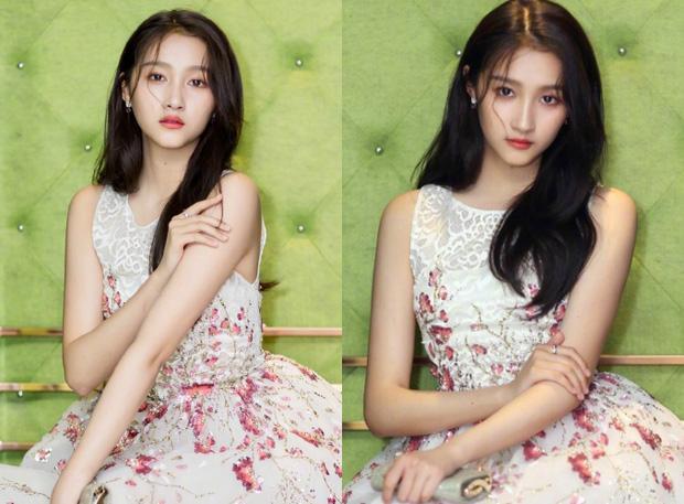 """""""Ngọc nữ 9x"""" của làng giải trí Hoa ngữ cũng tạo ấn tượng với bộ ảnh chụp hậu trường khoe nhan sắc đẹp tựa nữ thần."""