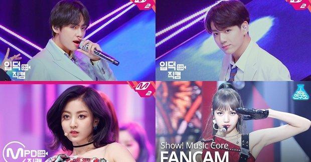 Không chỉ có các master fansite, mà giờ đây các nhà đài cũng thực hiện fancam focus.