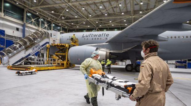 Đức sẽ vận hành thêm nhiều chuyến bay đến Ý để đón bệnh nhân.