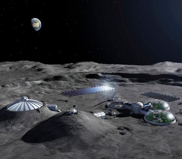 Các cơ quan vũ trụ đã chú ý đến cuộc sống trên Mặt Trăng.