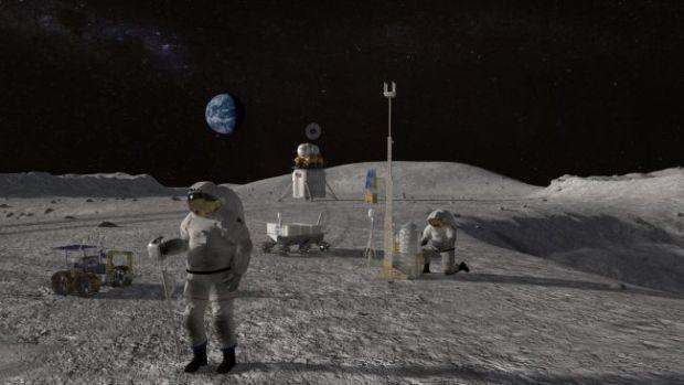 NASA đã lên kế hoạch đưa con người lên Mặt Trăng sinh sống lâu dài.
