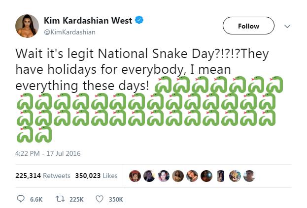 """Tất nhiên, các Swifties đã """"đào mộ"""" đoạn tweet này lên và châm chọc Kim một cách không thương tiếc!"""