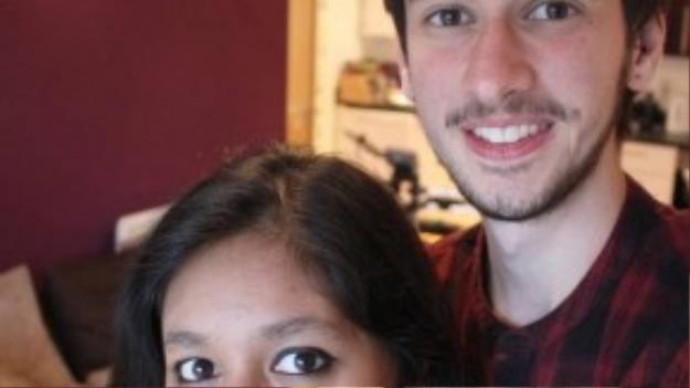 Jamie và bạn gái hiện tại đang rất vui mừng trước sự kiên trì chờ đợi thay đổi trong quá trình chuyển giới của anh chàng.