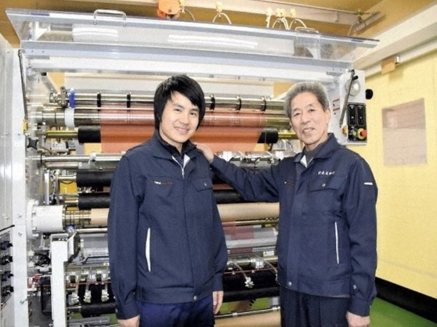 Nguyễn Đức Trường bên cạnh người chủ sẽ trao quyền thừa kế công ty Nhật.