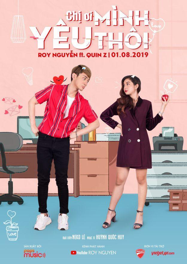 Teaser MV solo Chị ơi mình yêu thôi của Roy hứa hẹn sẽ là món quà thú vị và nhiều bất ngờ dành riêng cho các fan Việt.