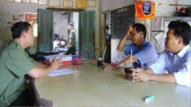 Cuộc họp chất vấn giữa các bên vào sáng ngày 1/12.