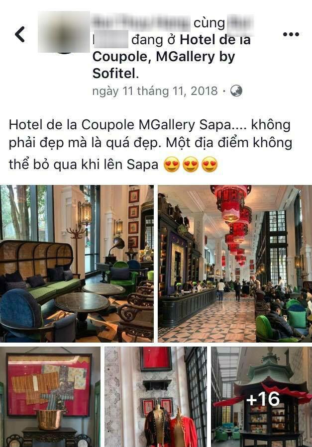 Hotel de la Coupole Mgallery là một địa điểm không thể bỏ qua khi đến với Sa Pa đấy.