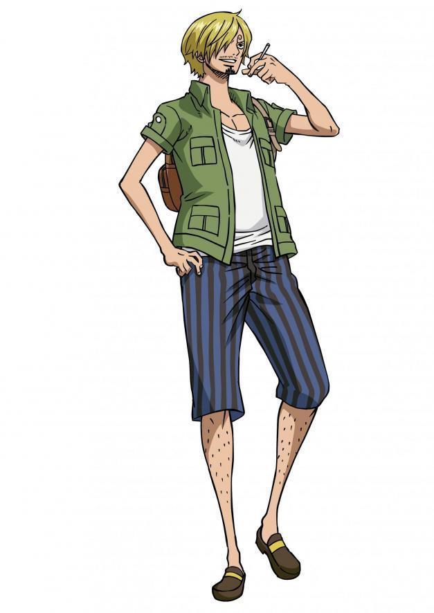 Điểm mặt những trai đẹp khiến chị em mê mệt trong One Piece ảnh 5