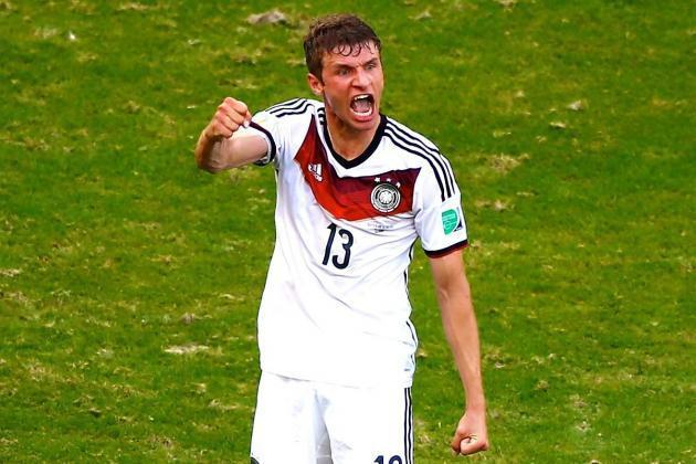 Thomas Muller rất có duyên ghi bàn ở World Cup.