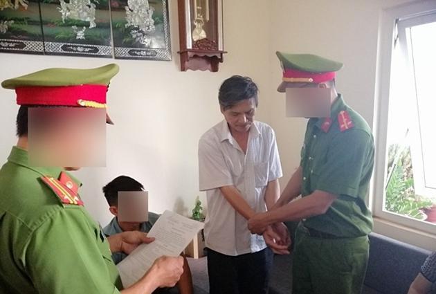 """Ông Đặng Ngọc Thủy bịbắt tạm giam 4 tháng để điều tra về hành vi """"H.iếp dâm"""". Ảnh: BVPL."""