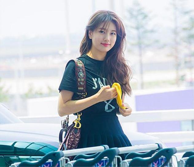 Nữ thần Suzy tăng cân lộ mặt nọng tròn quay nhưng ai nhìn vào cũng khen đáng yêu hết nấc ảnh 8