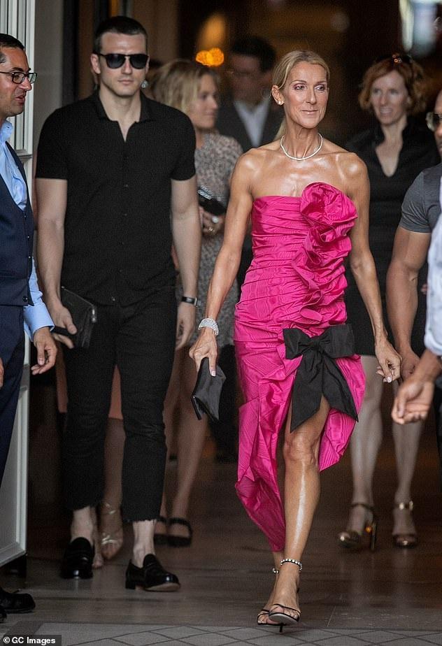 Celine Dion xuất hiện trước thềm show diễn của thương hiệu Miu Miu