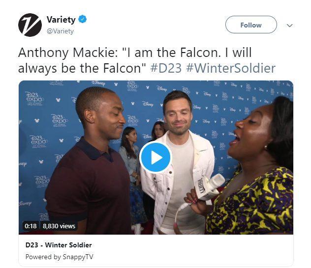 Anthony Mackie xác nhận: Falcon sẽ không trở thành Captain America mới ảnh 2