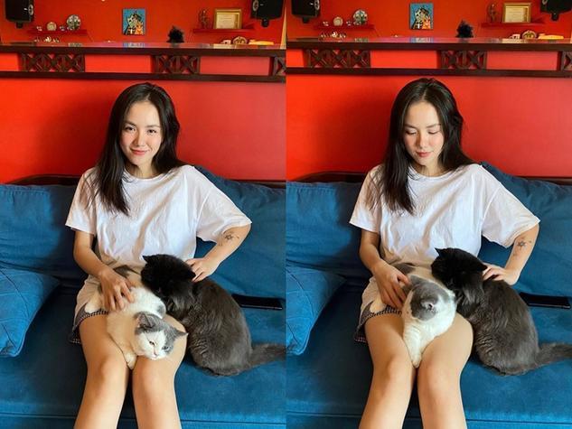 Sao Việt cách li tại gia: 2 thái cực rõ rệt, người kín như bưng  người gợi cảm vô đối ảnh 12